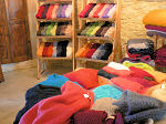 Our Mohair shop : plaids, scarves, gloves, ...